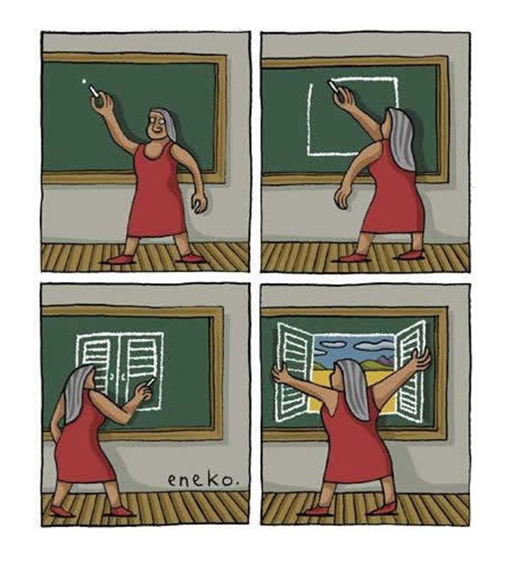 educacion ventana abierta