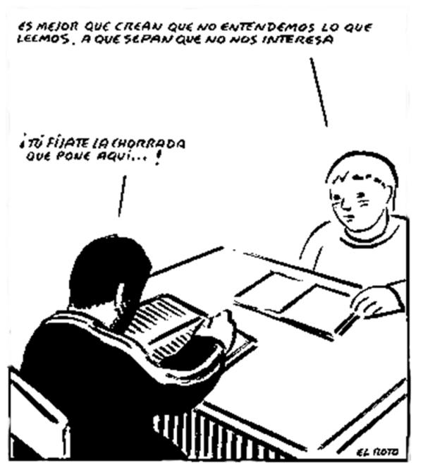 Notas a pie de aula (3): el sentido no siempre es la utilidad